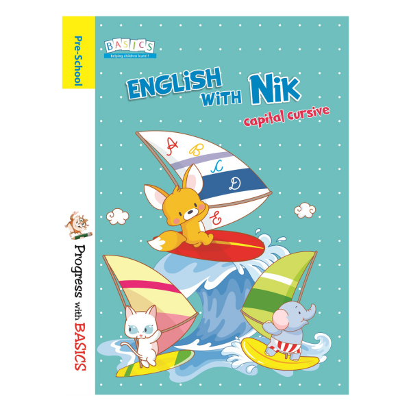 Basics English with Nik Cursive Writing