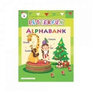 Rising Kids Letterfun Alphabank (Alphabet Reading Book)