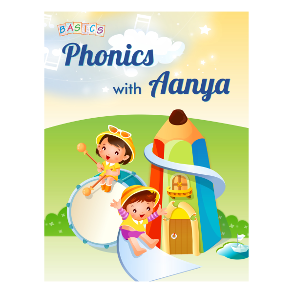 Phonic With Aanya Cursive Vowels and Word Making English Book – Basics