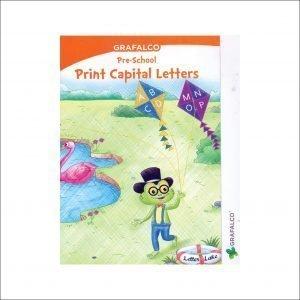 Grafalco Pre-School Print Capital Letters