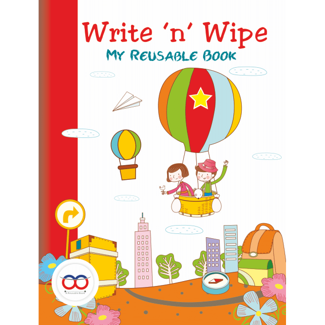 Reusable Drawing Book for kids