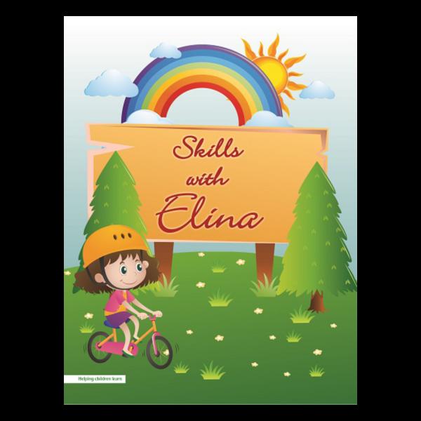 Skills with Elina Alphabet Cursive Writing Book - Basics