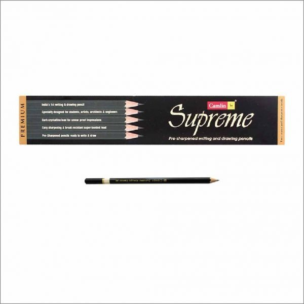 Camlin Supreme Writing & Drawing Pencils (Pack of 10)