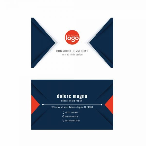 Blue Business Cards (Pack of 100)
