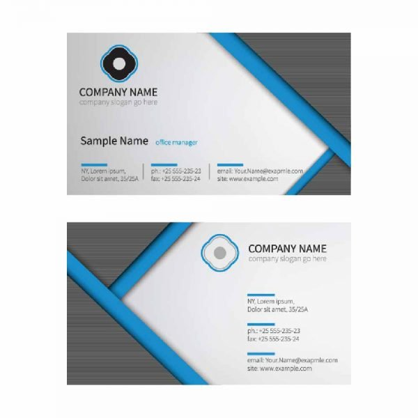 skoolstore| White & Grey Business Card (pack of 100), White business card, Grey Business card, Lowest prices