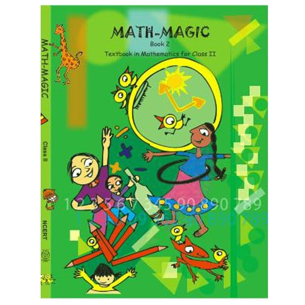 Math Magic Textbook in Mathematics for 2nd Class NCERT Book Skool Store