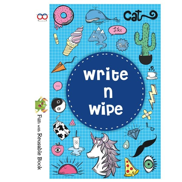 Reusable Book - Write And Wipe Book - Reusable NoteBook ONLINE - Skool Store
