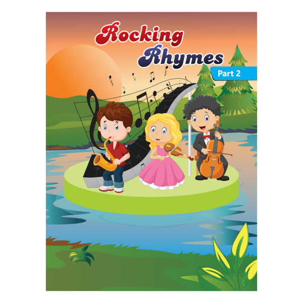 Rising kids – English Rhymes Book for kids Rocking Rhymes Book Part 2