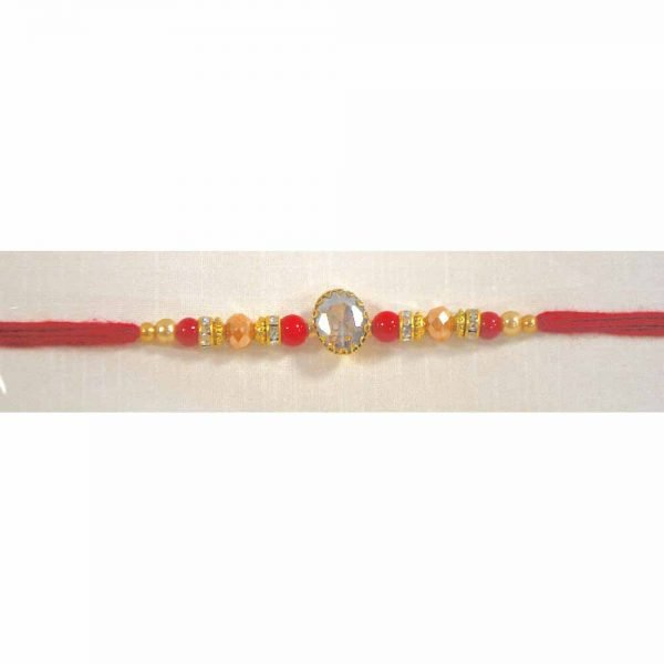 Single American Diamond Rakhi for your Brother (Pack of 6)