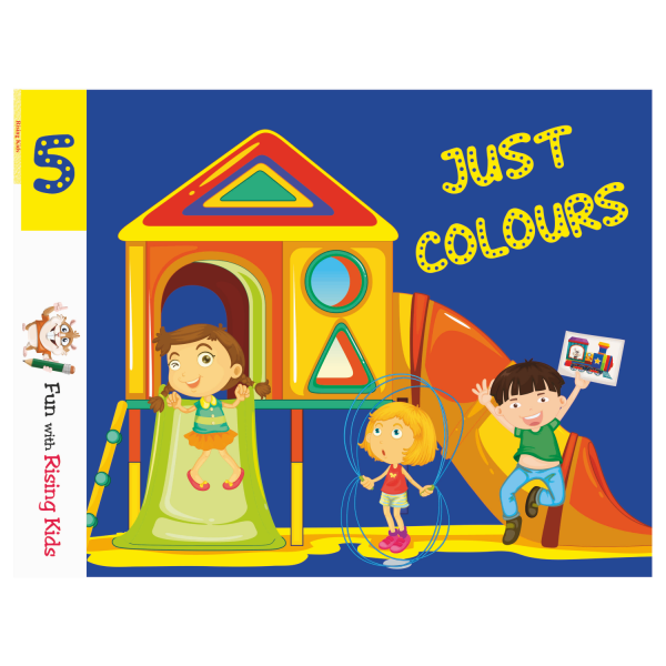 Just Color Drawing Book For Kids Class 5 - Rising Kids