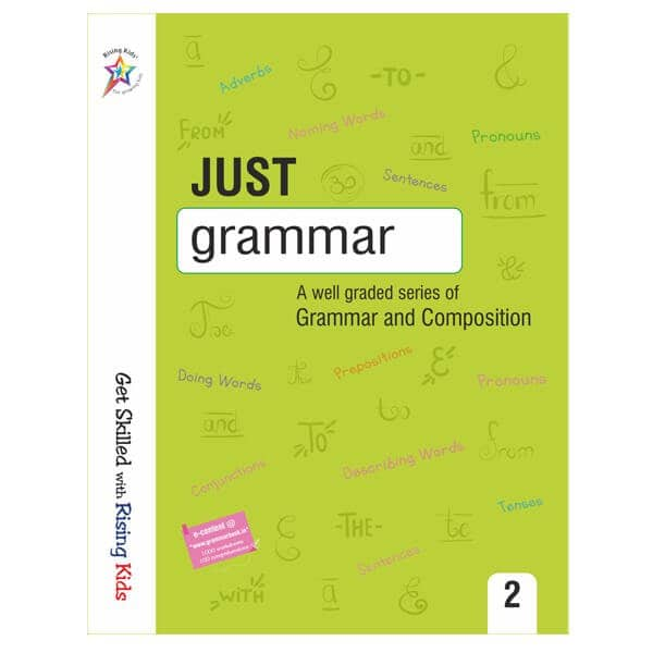 Just Grammar Book Class 2nd - Rising kids -skool store