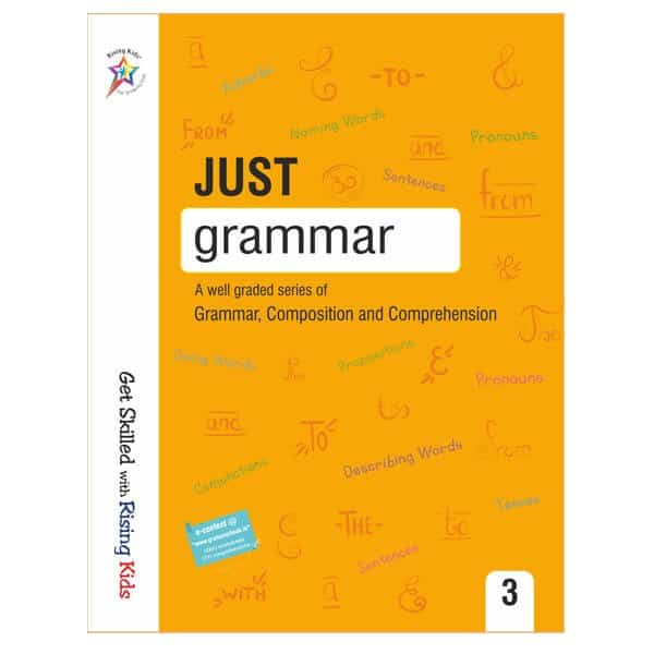 Just Grammar Book Class 3rd - Rising kids -skool store