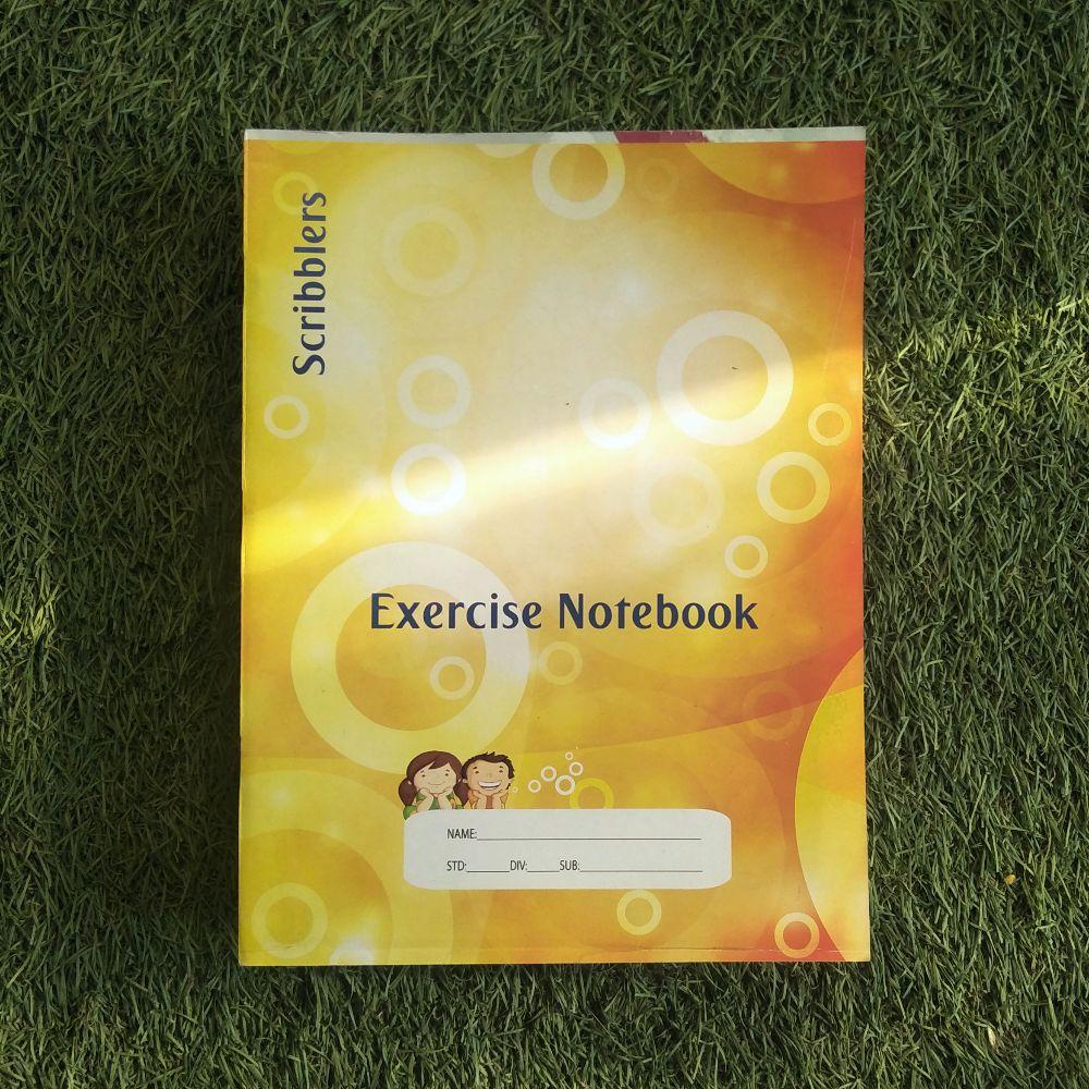 Broad Line Mathematics Notebook