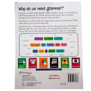 Just Grammar Book Class 3 Rising kids 1
