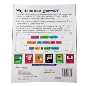 Just Grammar Book Class 5 Rising kids 1
