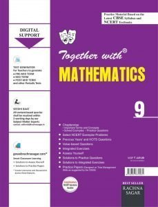 Together With CBSE Mathematics with Solution Practice Material for Class 9