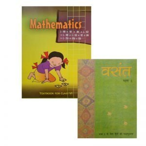 Mathematics Class 6 NCERT, Vasant Part - 1 Combo