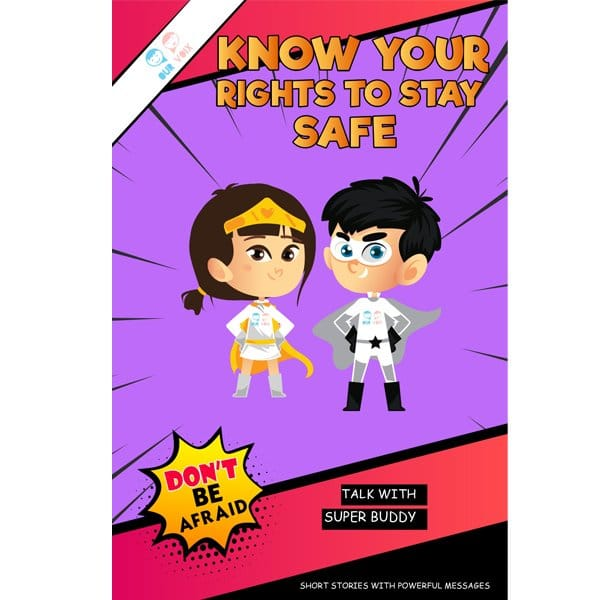 Know Your Rights To Stay Safe -Our Voix - Comic Book skool Store2