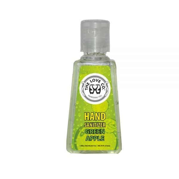 The Love Co. Hand Sanitizer (Green Apple) 30 ml