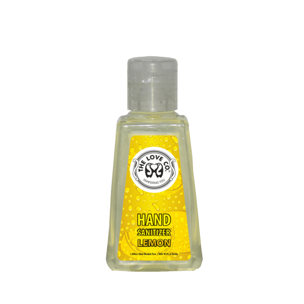 The Love Co. Hand Sanitizer Lemon 1