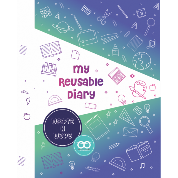 reusable write and wipe diary