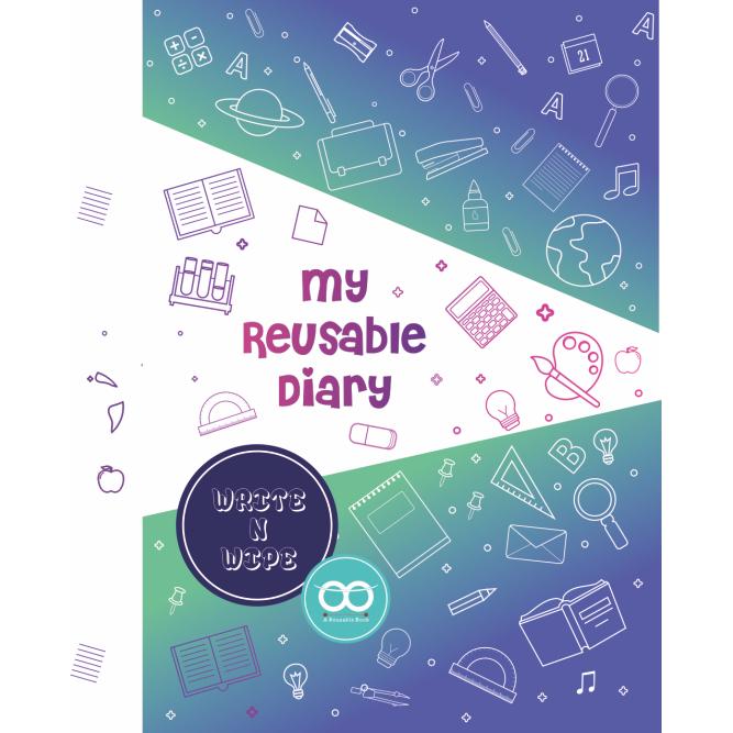 reusable write and wipe diary